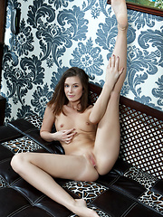 With sparkling green eyes, a naughty, playful smile, and a smoking hot body with sexy curves, it's no surprise that Kira\'s beauty easily stands out.