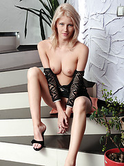 Mila is blessed with a slim, slender body with gorgeous, puffy breasts and towering physique, thanks to her long, lean, sexy legs, and a charming yet naughty charm that is adorable and tempting at the same time.