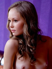 Her charming yet seductive looks oozing with enchanting and young appeal, Caesaria is a sure hit with her beautiful breasts, sexy legs, slender yet perky body, with firm butt.