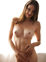 Clad in a black lingerie dress and matching panties, Rilee sizzles and titillates as she slowly strips her ultra sexy clothing before spreading her legs wide open to provide a fantastic view of her sweet, moist pussy.