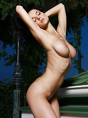 Jenya is amazing with large breasts and big nipples, she has small hips and a tight ass, everything you could dream of.