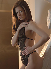 Caprice is a dream girl. Watch her strip out of her fancy lingerie and make herself cum like CRAZY