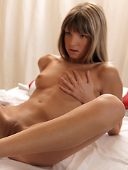 Tiny Gina Gerson pleasures her mans cock with her mouth and hands and even her feet before a lust filled fuck session