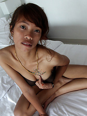 Ridiculously tight and horny young Thai babe proves shes a fuck machine