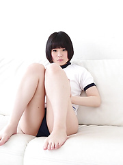 Do you want to be Minori's private sports instructor? This cute Japanese girl needs help with her bouncing technique but keeps teasing us with her shorts!