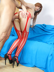 What could be better than a liberated sweetie who is willing to fuck? Only a dirty-minded sweetie willing to take it up the ass!